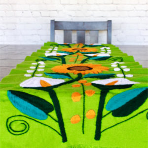 Colorful Mexican Table Runner