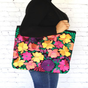 Embroidered Mexican Bag