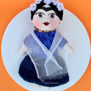 Handmade Frida Khalo Doll