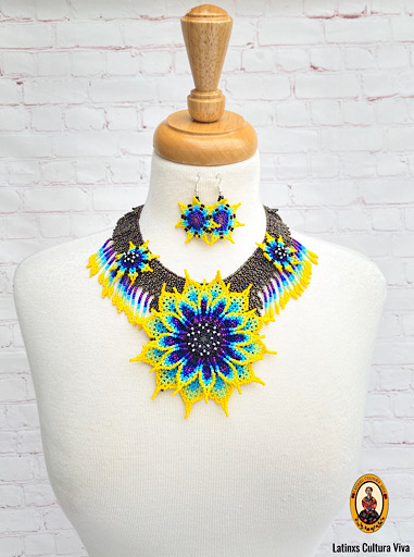 Beaded Mexican Necklace
