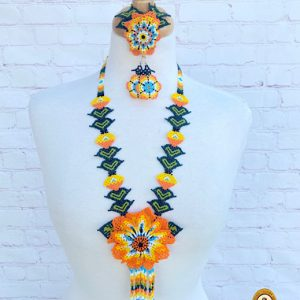 Mexican Handmade Huichol Necklace