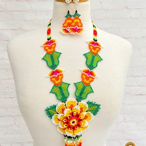 MEXICAN BEADED NECKLACE