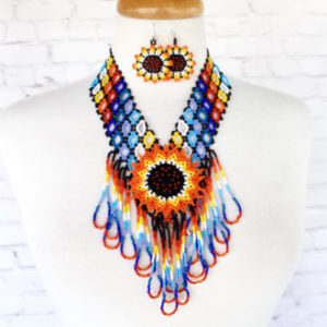 Colorful Mexican Necklace
