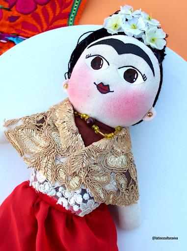 Mexican Frida Doll