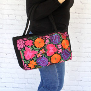 Small Mexican Embroidered Bag