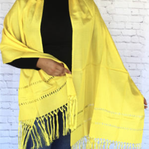 Yellow Mexican Rebozo