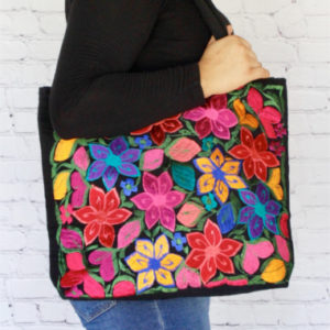 Embroidered Mexican Hangbag