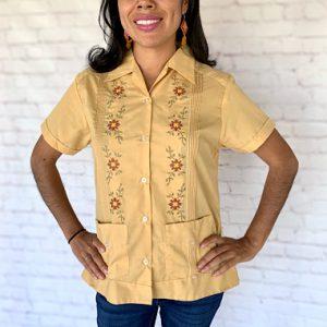 Guayabera Hand Embroidered Shirt