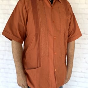 Short Sleeve Mexican Guayabera