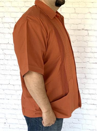 Short Sleeve Mexican Guayabera