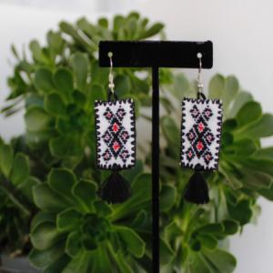 Mexican Black Earrings