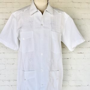 Yucateca White Guayabera Shirt