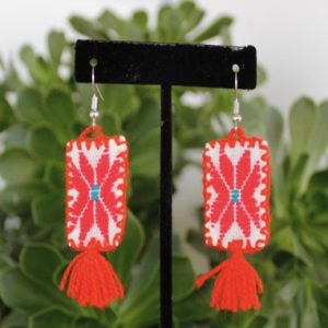 MEXICAN EMBROIDERED EARRINGS