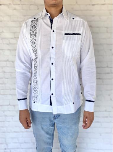 Mexican White Guayabera