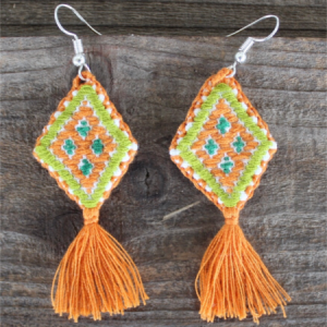 Colorful Mexican Earrings