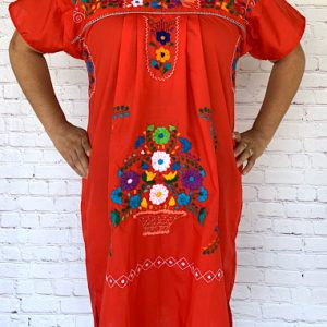 Red Mexican Dress