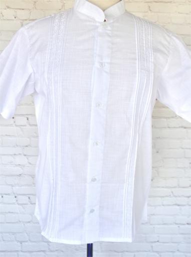 White Guayabera Shirt