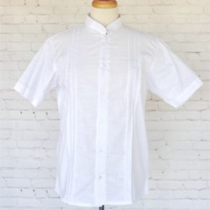 White Guayabera Shirt