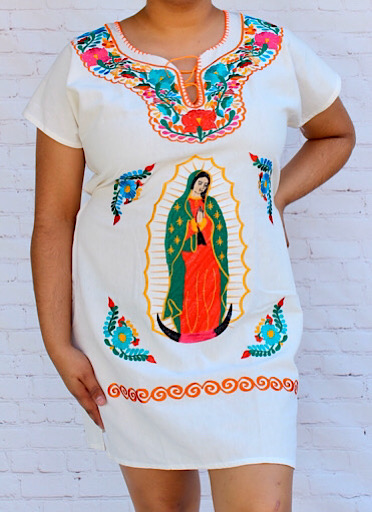 Virgen de Guadalupe Mexican Dress