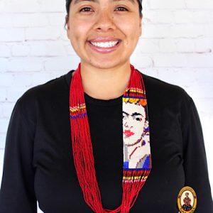 Colorful Beaded Frida Necklace