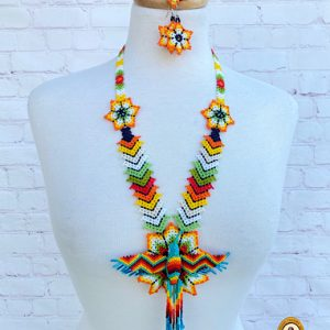 Chaquira Beaded Necklace Set