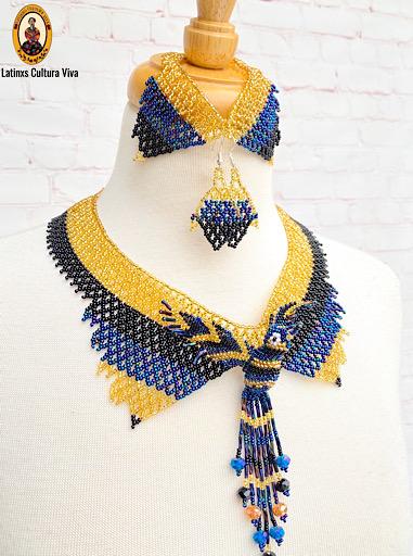 Royal Hummingbird Jewelry Set