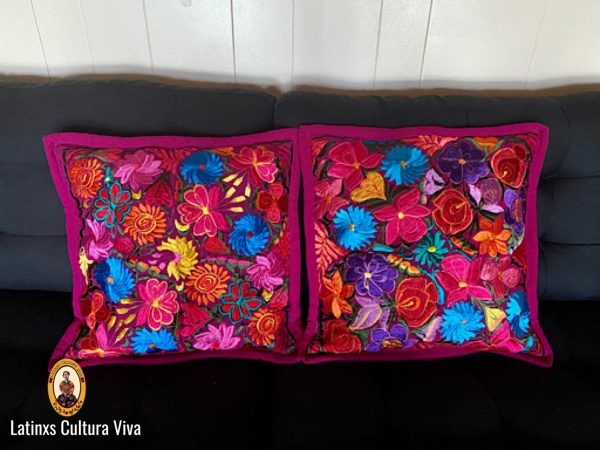 Purple Mexican Pillow Cases