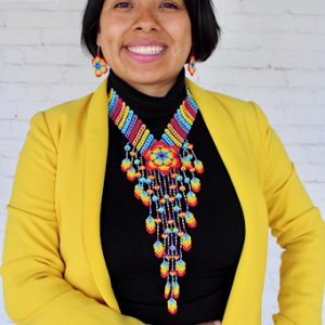 Handmade Beaded Mexican Necklace