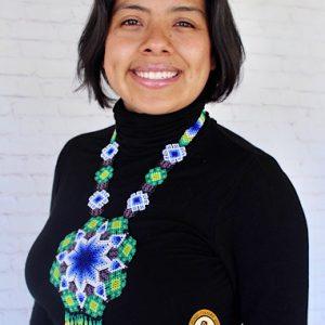 Beaded Peyote Huichol Necklace