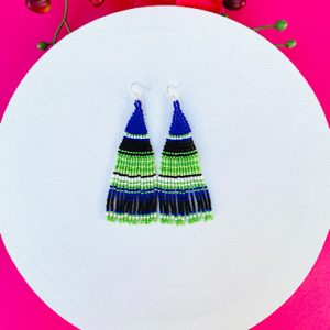 Bright Mexican Earrings