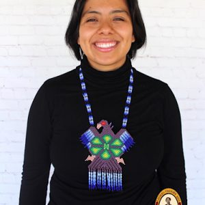 Beaded Mexican Huichol Necklace