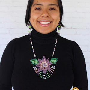 Huichol Mexican Jewelry Set