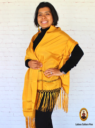 Gold Mexican Rebozo