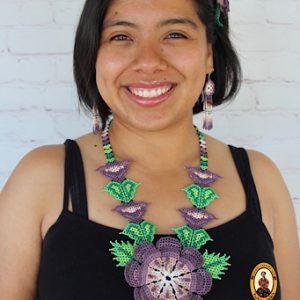 Collar Huichol Mexicano