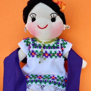 Colorful Mexican Doll