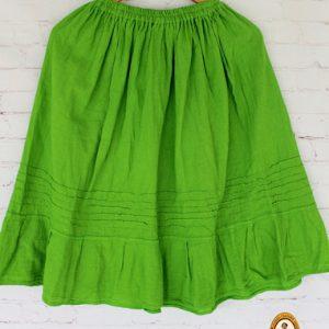 Green Mexican Skirt