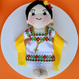 Handmade Mexican Doll