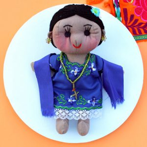 Handmade Mexican Doll