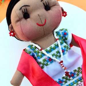 Mexican Mestiza Doll