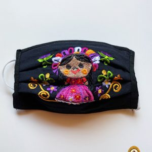 Mexican Doll Face Mask