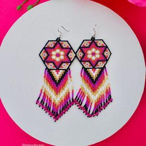 Colorful Beaded Earrings