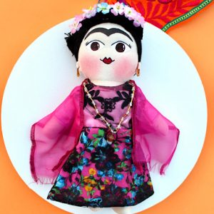 Frida Mexican Doll