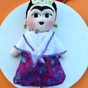 Frida Style Doll