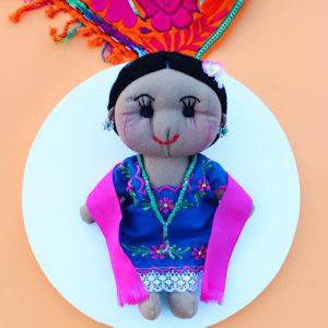 Mestiza Mexican Doll