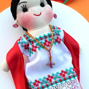 Mexican Handmade Doll