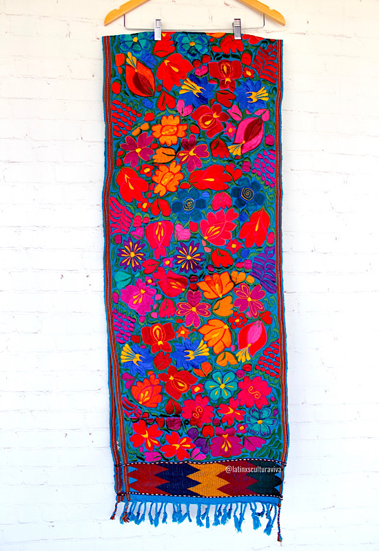 Large Mexican Table Runner