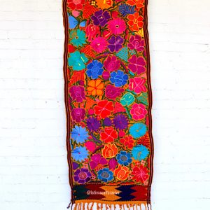 Mustard Mexican Table Runner