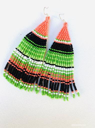 Zarape Beaded Earrings